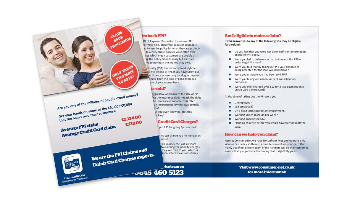 Consumer Net leaflet