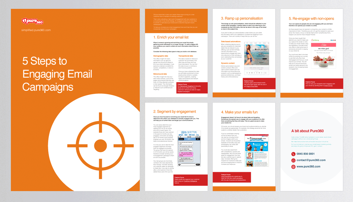 5 Steps to Engaging Email Campaigns