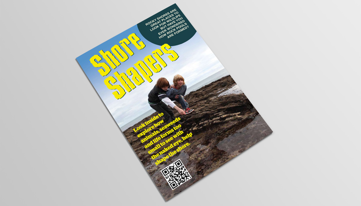 Shore Shapers fold out fact sheet