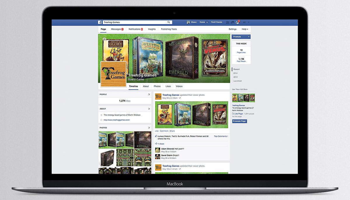Treefrog Games Facebook page