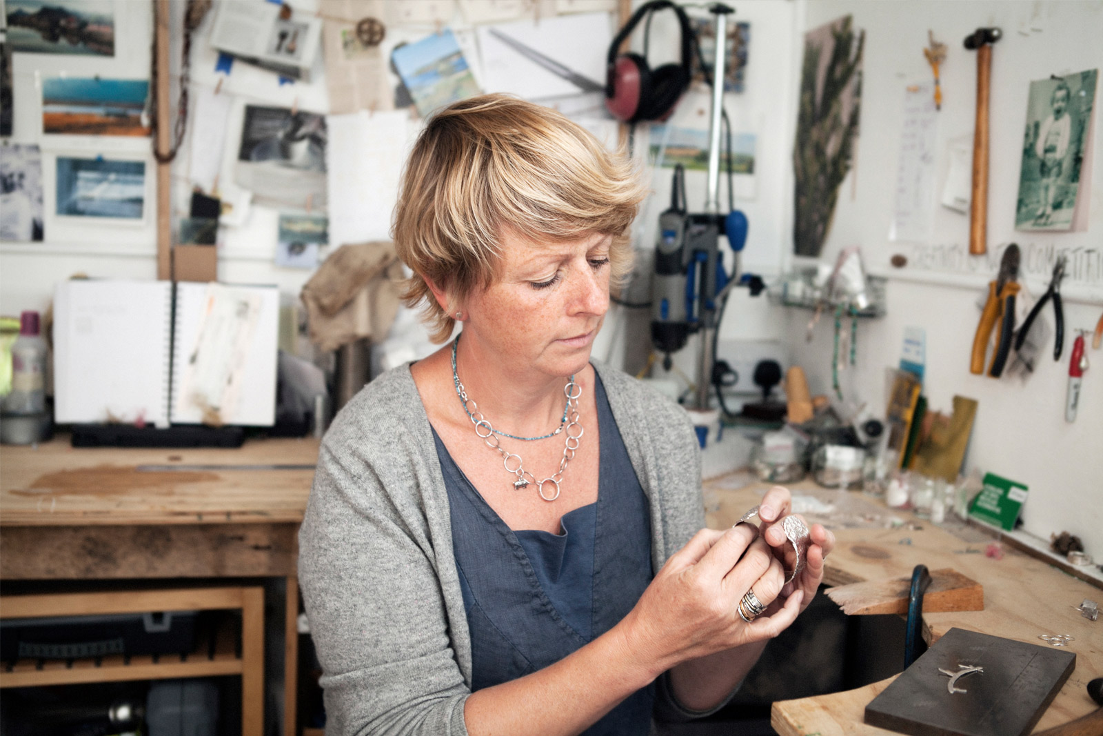 Editorial Portraits for Lucy Spink Silversmith